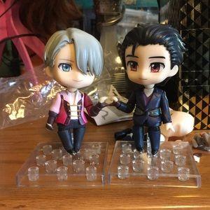 Other - Viktor and yuuri nendoroid figures